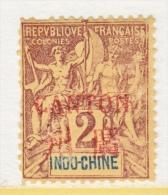 INDO-CHINE  CANTON  1A      * - Canton (1901-1922)