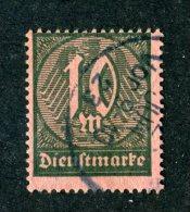 9664  Bund 1922 ~ Michel #71  ( Cat.€12.00 ) - Offers Welcome. - Service