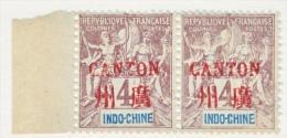 INDO-CHINE  CANTON  2 X 2     * - Canton (1901-1922)