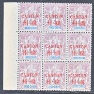 INDO-CHINE  CANTON  2 X 9     * - Canton (1901-1922)