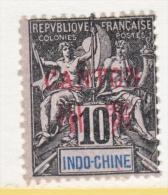 INDO-CHINE  CANTON  4      ** - Canton (1901-1922)