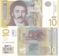SERBIA 10 DINARI 2006 FDS UNC - Serbia