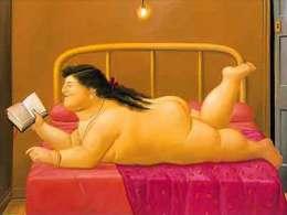 MAGNET (FRIDGE MAGNET) SIZE.7X5 CM. APROX - Fernando Botero - Publicidad