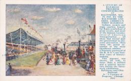 BALTIMORE , Maryland , 1927 ; Century Of Railroad Progress Exhibition ; #1 - Baltimore