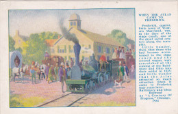 BALTIMORE , Maryland , 1927 ; Century Of Railroad Progress Exhibition ; #2 - Baltimore