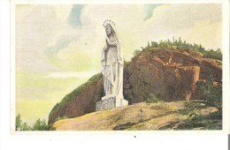 The Statue Of Our Lady Of The Saguenay Was Erected In 1881 By Chas. Napoleon Robitaille - Saguenay