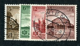 9750  Reich 1938 ~ Michel #665-68  ( Cat.€3. ) - Offers Welcome. - Used Stamps