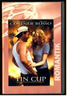 VHS Video  -  Tin Cup  -  Mit :  Ben Wright , Irina Gasanova , Rex Linn , Michael Milhoan , Kevin Costner  -  Von 2001 - Lovestorys