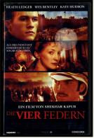 VHS Video  -  Die Vier Federn  -  Mit : Heath Ledger, Wes Bentley, Kate Hudson  -  Von 2002 - Drama