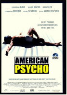 VHS Video  -  American Psycho  -  Mit : Christian Bale, Willem Dafoe, Jared Leto, Reese Witherspoon  -  Von 2001 - Krimis & Thriller