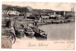 CPA 1903 LYON VAISE LA GARE D'EAU - Other