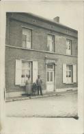 Matage-la-Grande - Façade De Maison Est Ses Habitants - Carte Photo à Situer ( Voir Verso ) - Doische