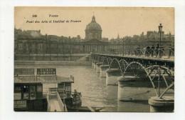 CP , 75 , PARIS , Pont Des Arts Et Institut De France - Ponts