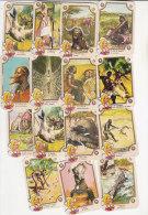 PO5482C# 15 FIGURINE Anni ´60 MIRALANZA - OLANDESINA - Serie AFRICA NERA - Otros