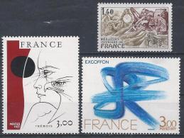 France N°1950 à 1952 ** Neuf - Ungebraucht