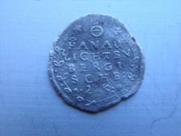HANAU-LICHTENBERG....2 KREUZERS DE 1663  ALSACE.......... - 476-1789 Lehnsperiode