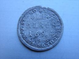 HANAU-LICHTENBERG....2 ALBUS 1664  ALSACE.......... - 476-1789 Lehnsperiode