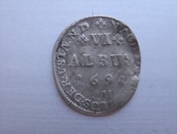 HANAU-LICHTENBERG....6 ALBUS 1694  ALSACE.......... - 476-1789 Lehnsperiode