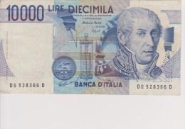 Billet 10000 Lire Banca Italia 3 Septembre 1984 - [ 2] 1946-… : République