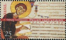 GE0141a Armenia 2001 Religious Scholars Scriptures 1v MNH - Armenia