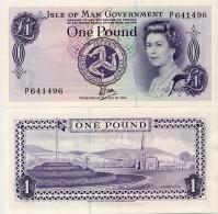 ISLE OF MAN       1 Pound       P-34a       ND (1979)       AUnc - Isle Of Man / Channel Island