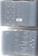 Größere Polybeutel Mit Verschluß 2x100 Neu 8€ Schutz/Einsortieren Lindner #784 100x150mm Bag For Stamps + Cards Of World - Briefmarken