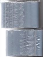 #785 Größere Polybeutel Mit Verschluß 2x100 Neu 10€ Schutz/Einsortieren Lindner 120x170 Mm Bag For Stamps+cards Of World - Briefmarken