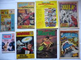 Lot 8 Comics étrangers Années 60-80 (divers Pays) Bon état - LOT N°2 - Petit Format