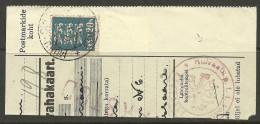 Estland Estonia Estonie 1935 Cut Out Cancel MUHU-SUURE + Kuressaare + KUIVASTU KONTROLL - Estonia