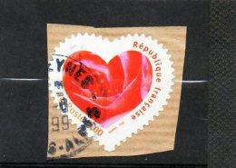 FRANCE    3,00 F       1999    Y&T: 3221    (sur Fragment Oblitéré) - Adhesive Stamps