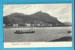 C.P.A. Konigswinter  Und.der Drachenfels - Koenigswinter