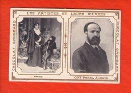 1 Image Les Artistes Et Leurs Oeuvres   - 10 X 7 Cm -  Maison Grondard Paris  - Cot  Pierre - Vecchi Documenti