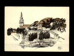 ILLUSTRATEURS BRETONS - MATHURIN MEHEUT - Pardon à Sainte-Anne-la-Palud - Meheut