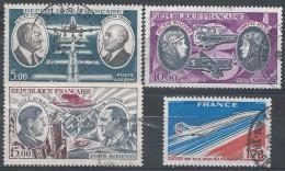 France Poste Aérienne N°46 à 49 Obl. - Airmail