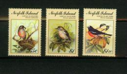 Norfolk Island 1990,3V,birds,uccelli,vögel,oiseaux,pajarosMNH/Postfris,(E4278it) - Oiseaux