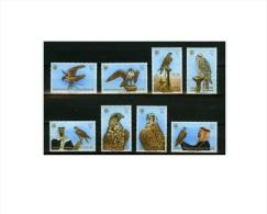 Bahrain 1980,8V,birds,uccelli,oiseaux,vögel,pajaros,vogels,MNH/Postfris,(E4187it - Vogels