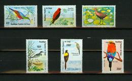Congo 1980,6V,birds,uccelli,oiseaux,vögel,pajaros,vogels,MNH/Postfris,(E4275it) - Zonder Classificatie