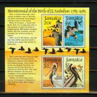 Jamaica1985,1 Bl,birds,vogels,oiseaux,vögel,pajaros,uccelli,MNH/Pfris(E4307us - Birds