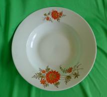 Old Antique Altrohlau Porcelain Factory 1918 -1939 MZ Czechoslovakia Soup Plate Bowl - Signed