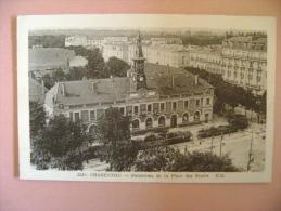 CP CHARENTON   N°4209 PANORAMA DE LA PLACE DES ECOLES - ECRITE EN 1954 - Charenton Le Pont