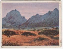 Zigaretten Sammelbild Deutsche Kolonien Bild Nr 99 Ostrand Der Namib Club Regatta Dresden - Cigarette Cards