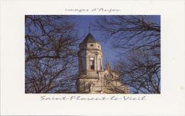 BF15738 L Eglise Abbatiale St Flerent Le Vieil Vendee France Front/back Image - Saint Florent Des Bois