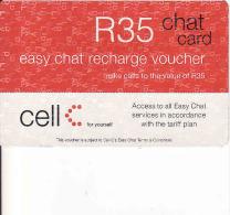 Afrique Du Sud-South Africa, Cell R35 Card, Recharge Voucher - Afrique Du Sud