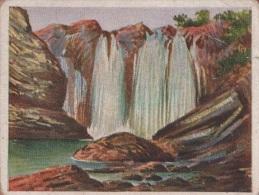 Zigaretten Sammelbild Deutsche Kolonien Bild Nr 152 Wasserfall Des Sanaga Bei Edea Bulgaria & Sorte 16 Dresden - Zigaretten