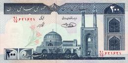 Iran 200 Rials (1982-) Pick 136 UNC - Iran