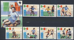 MSV-BK1-021 MINT PF/MNH ¤ KOMLETE SET --- WK SPECIAL BRASIL ¤ WK VOETBAL SOCCER - World Cup