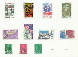 France N°1883 à 1893 Et 1891b Cote 5.20 Euros - Gebraucht