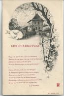 Cpa Les Charmettes - Maison De J.J. Rousseau Et De Mme De Warens. (Poème). - Unclassified