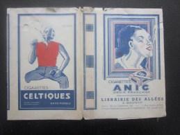 Protège-livres Thème Tabac Cigarette Annic Régie Française Des Cigarettes Week-end Cigarettes Balto Et Celtiques - Tobacco