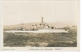 CPSM Bateaux - Torpilleur Le Fortuné - Guerra